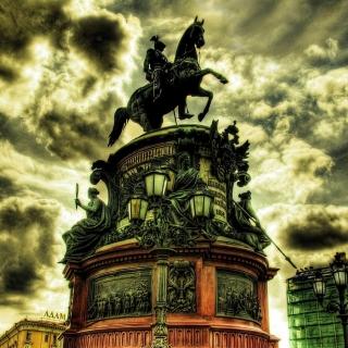 Monument to Nicholas I in Saint Petersburg - Obrázkek zdarma pro iPad mini 2