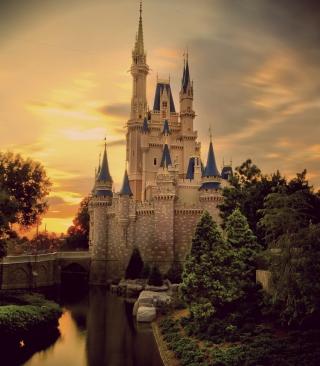 Vintage Castle - Obrázkek zdarma pro iPhone 3G