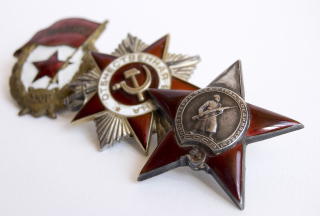 World War 2nd USSR Victory Award Medals Picture for Android, iPhone and iPad