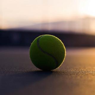 Tennis Ball - Obrázkek zdarma pro iPad