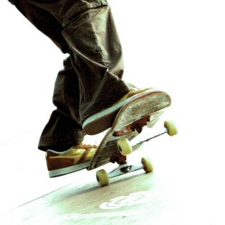 Skateboard - Obrázkek zdarma pro 1024x1024