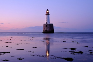 Lighthouse In Scotland Wallpaper for Android, iPhone and iPad