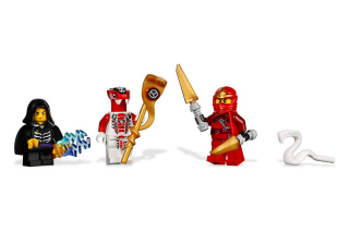 Lego Ninjago Minifigure Background for Android, iPhone and iPad