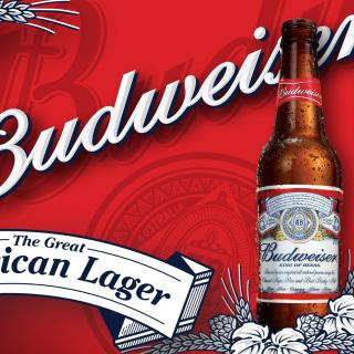 Budweiser Lager Beer Brand - Obrázkek zdarma pro iPad 2