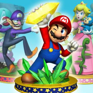 Mario Party 5 - Obrázkek zdarma pro 1024x1024