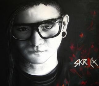 Skrillex - Obrázkek zdarma pro iPad 2