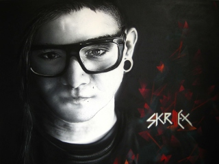 Skrillex Wallpaper for Android, iPhone and iPad