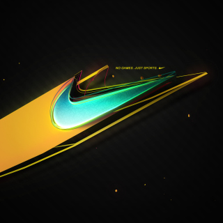 Nike - No Games, Just Sports - Obrázkek zdarma pro iPad 3