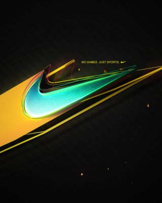 Nike - No Games, Just Sports - Obrázkek zdarma pro Nokia C1-01