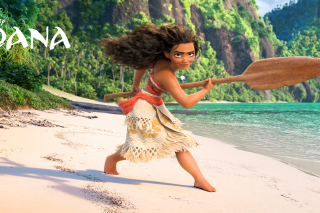 Moana 3D Cartoon Wallpaper for Android, iPhone and iPad