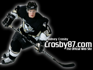 Sidney Crosby - Hockey Player Background for Android, iPhone and iPad
