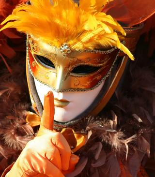 Carnival Mask - Obrázkek zdarma pro 132x176