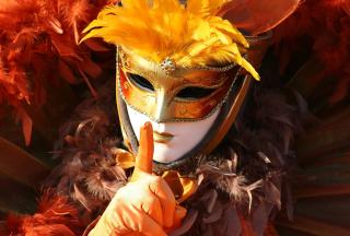 Carnival Mask - Obrázkek zdarma pro Nokia Asha 205