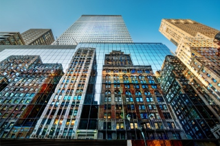 Big City Reflections - Obrázkek zdarma pro Samsung Galaxy S II 4G
