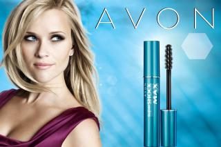 Avon Cosmetics, Mascara - Obrázkek zdarma pro Motorola DROID 3