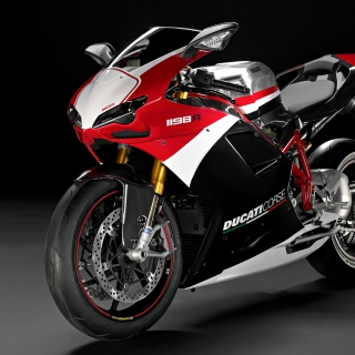 Superbike Ducati 1198 R - Obrázkek zdarma pro 1024x1024