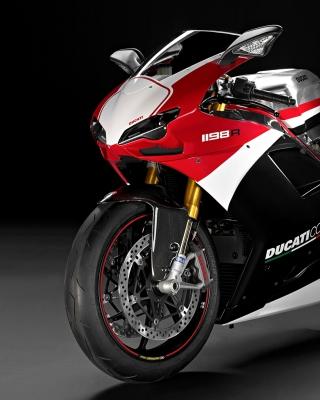 Superbike Ducati 1198 R - Obrázkek zdarma pro Nokia Asha 310