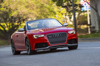 Audi RS5 Cabriolet Picture for Android, iPhone and iPad