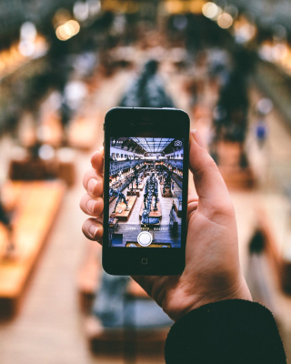 IPhone Photo - Obrázkek zdarma pro Nokia Asha 300