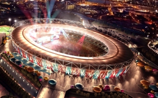 London Olympic Stadium Wallpaper for Android, iPhone and iPad