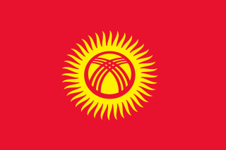 Free Flag of Kyrgyzstan Picture for Android, iPhone and iPad