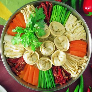 Chinese dumplings - Obrázkek zdarma pro 1024x1024