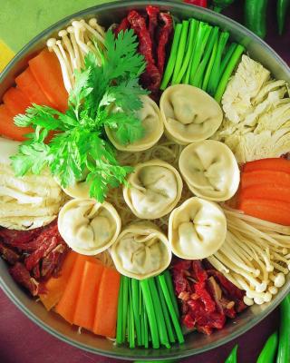 Chinese dumplings - Obrázkek zdarma pro 480x854