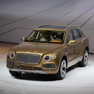 Bentley Bentayga - Obrázkek zdarma pro iPad Air