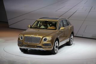 Bentley Bentayga - Obrázkek zdarma pro 220x176