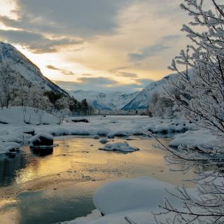 Winter Outdoor Image - Obrázkek zdarma pro 128x128