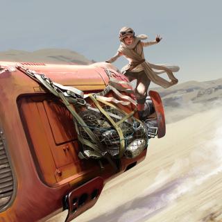 Star Wars The Force Awakens - Obrázkek zdarma pro iPad mini