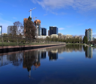 Modern City - Obrázkek zdarma pro iPad mini
