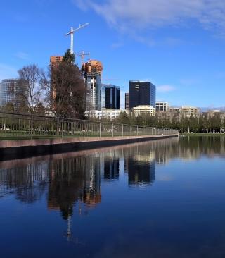 Modern City - Obrázkek zdarma pro Nokia Asha 308