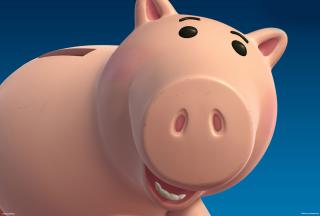 Pig - Obrázkek zdarma pro 1366x768