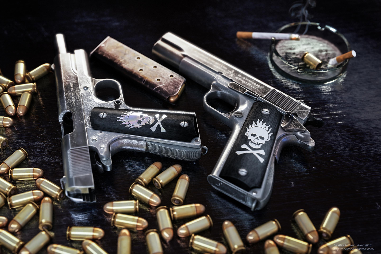 Фото пистолет сигарета 2