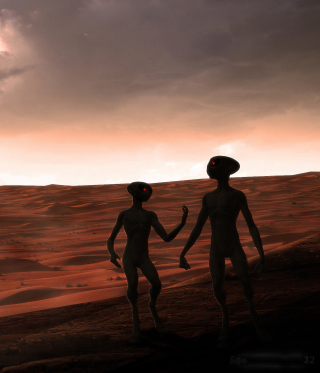 Aliens - Obrázkek zdarma pro 128x160