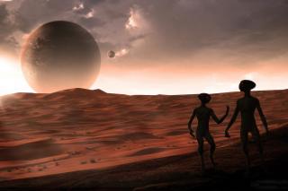 Aliens - Obrázkek zdarma pro Motorola DROID