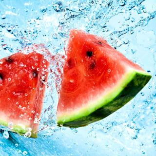 Watermelon Triangle Slices - Obrázkek zdarma pro iPad