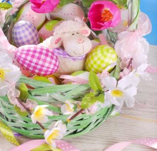 Easter Sheep - Obrázkek zdarma pro 1024x1024