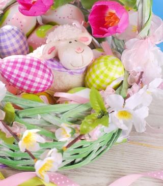 Easter Sheep - Obrázkek zdarma pro 360x480