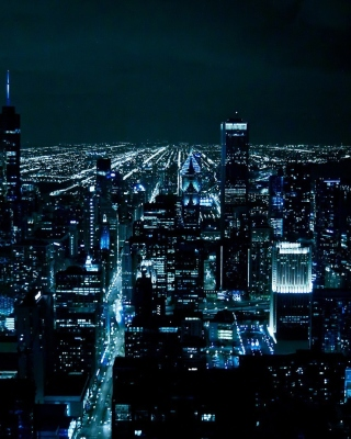 Chicago Night Lights - Fondos de pantalla gratis para Nokia 5230
