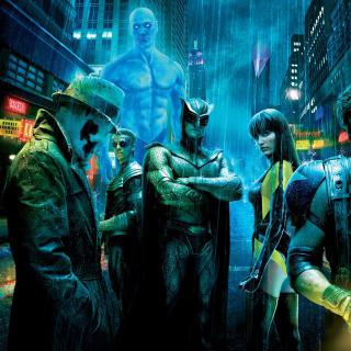 Watchmen - Obrázkek zdarma pro iPad 3