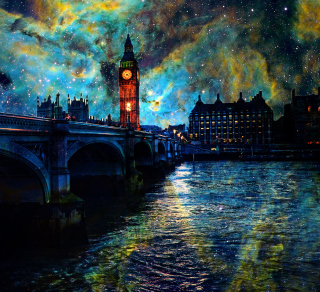 Space London - Obrázkek zdarma pro iPad mini