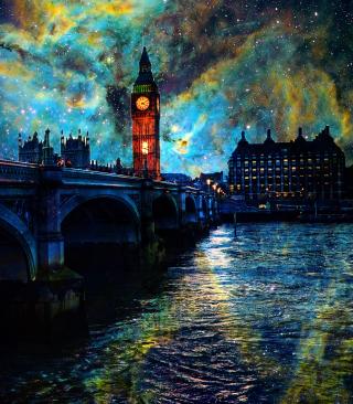 Space London - Obrázkek zdarma pro Nokia Asha 300