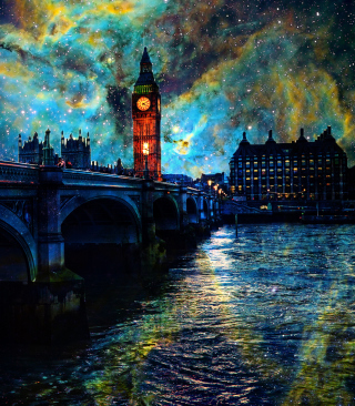 Space London - Obrázkek zdarma pro iPhone 4