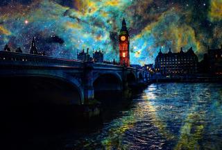 Space London - Obrázkek zdarma pro Samsung Galaxy Tab 3