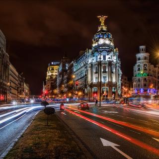 Alcala de Henares UNESCO in Madrid - Obrázkek zdarma pro 2048x2048
