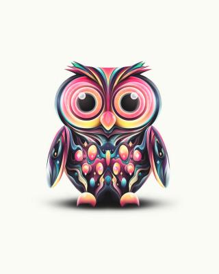 Cute Owl - Obrázkek zdarma pro Nokia Asha 303