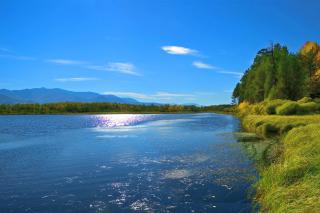 Scenic Lake Oregon HD - Fondos de pantalla gratis