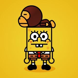 SpongeBob - Obrázkek zdarma pro 208x208